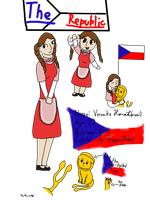 The Czech Republic -APH OC- !READ THE DESCRIPTION! by Petra-K-Z