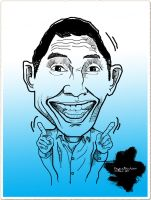 Caricature of Abang Jem by in2cr3ativ3