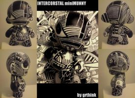 Intercorstal mini-Munny by grthink