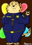 Clawhauser Peace by Pomania