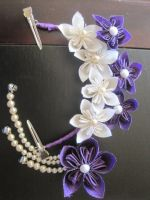 For Sale: Kanzashi - Clematis Collection by skipperofotters05