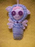 CELESTIA BABY HANDSEWN PONY ORNAMENT2 by grandmoonma