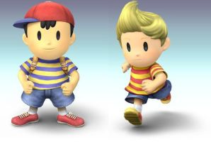 Ness And Lucas by TomTomBear
