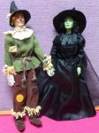 Witched Witch and 75th Annivesary Scarecrow Barbie by SHANNON-CASSUL-LOVER
