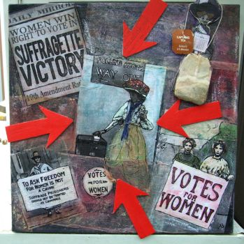 Suffragettes Drank Tea, Too by reptilara