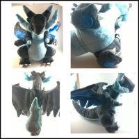 Mega charizard X number 2 by LRK-Creations