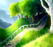 Stairs by Flamestar21