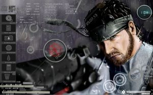 Solid Snake by dco23