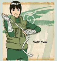 Rock Lee by juniorbunny