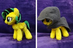 Sunspot Plushie :OC Commission: by AppleDew