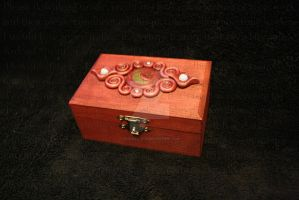 Wooden box by PzychoStock