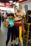 Alpha Chun Li and Vega by TixieLix