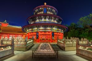 The Temple of Heaven's Closeup by shaderf