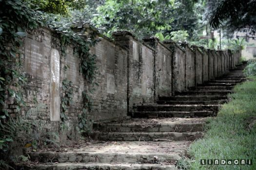 stone stairs by lindacai