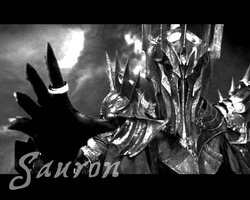Sauron, Lord of the Rings by turnasella