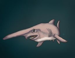 Shark Week: Goblin Shark by Ederoi
