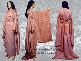 Mauvey Yukata with Copper by HasturCTS