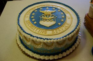 Airforce cake by The-EvIl-Plankton