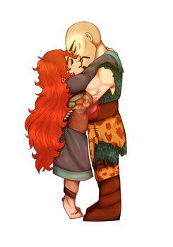 [HTTYD/RTTE]  Smoll smooches by Faarao-Jeba