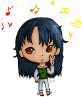Digital Tablet PS Chibi by FrenchBananaHorn