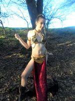 Slave Leia Unrobed Again by RosieRoulette
