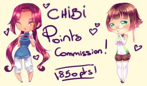 Chibi POINTS Commission ! CLOSED by rika-dono