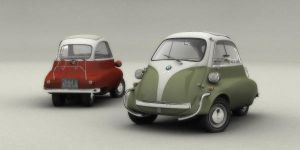 Two BMW Isetta 300 by kokillo