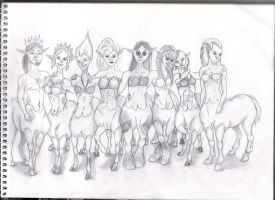 Centaur Banner (part two of many) by GhirahimsRemlit