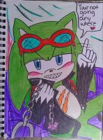 Scourge the hedgehog: your my love slave by AmyRoseXShadowlover