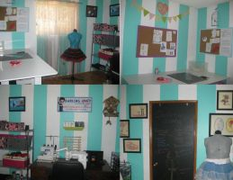 Darling Army Sewing Room by DarlingArmy