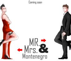 Mr and Mrs Montenegro by bloodykiller333