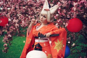 Oboro Muramasa (The Demon Blade): Kongiku cosplay by alberti