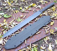 The Marauder sword by GageCustomKnives
