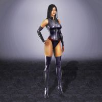 Deadpool Psylocke by ArmachamCorp