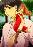 The Secret World of Arrietty - poster by DoctorZexxck