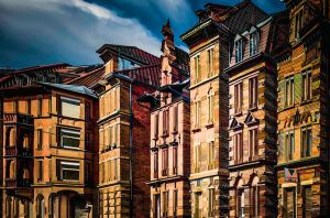 The Town Houses II by wulfman65
