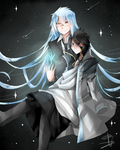 Invel X Zeref: Ice and the stars by Wes80