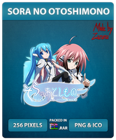 Sora no Otoshimono - Anime Icon by Zazuma