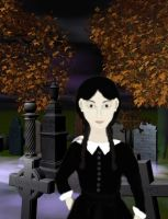 Wednesday At The Graveyard by terrya7