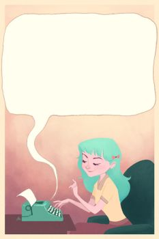 Blank Page by Kecky