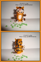 Bear dressed as a tiger by Zoey-01