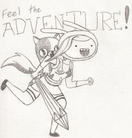 Sketch - Feel The Adventure by Catula