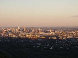 Mt Cootha lookout by alexisw