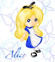chibi Disney Princess -Alice by EB-Style