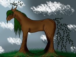 Tree Horse by Befera
