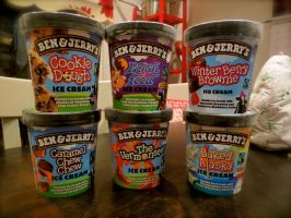 Ben and Jerry's Galore by Lil-Plunkie
