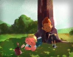The Dam Keeper tribute by Andry-Shango