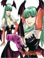 MVC3 - Morrigan by Wyvern07