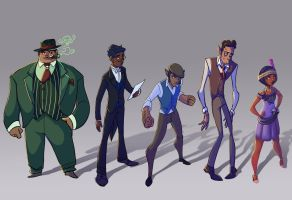 Jinx and Tonic Lineup by EmpressFunk