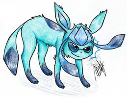 .Glaceon. by CaptainWackywhiskers